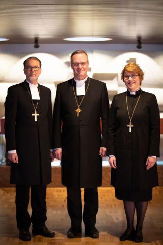Kolme Espoon piispaa