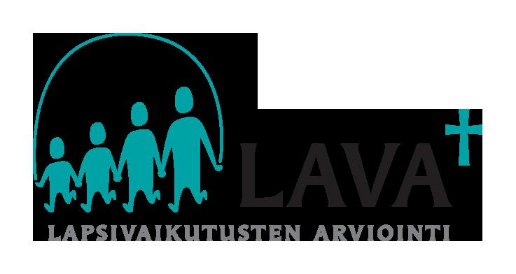 LAVA- lapsivaikutusten arviointi -kärkihankkeen logo